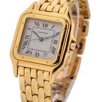 Cartier W25014B9 Panther 27mm in Yellow Gold - Date at 4 oclcok