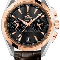 Omega Aqua Terra 150m Co-Axial GMT Chronograph 43mm 231.23.43....