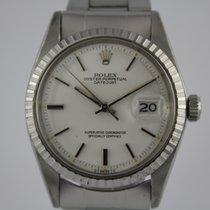 Rolex Datejust 1603 #A3112 mit Faltband und Box