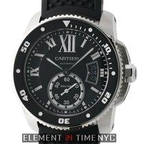 Cartier Calibre de Cartier Diver Steel Black Dial