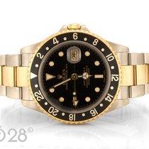 Rolex GMT Master II 16713 Edelstahl / Gelbgold Papiere 2002 LC100