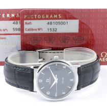 Omega De Ville Prestige Date Omega Band Pictogram Zertifikat