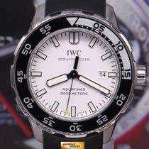 IWC Aquatimer 2000m 46mm Automatic White Iw3568-06 (mint)