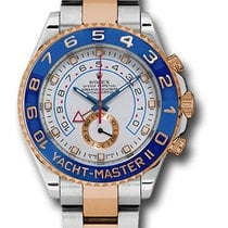 Rolex 116681 Yacht-Master II Stainless Steel & Everose...