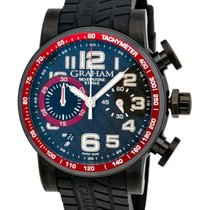 Graham Silverstone Stowe 44 Chronograph Automatic Men's Watch...