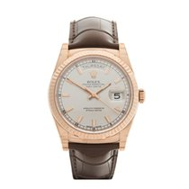 Rolex Day-Date 18k Rose Gold Gents 118135 - W3908