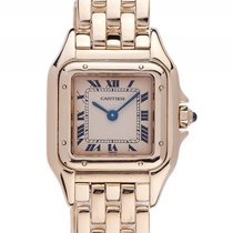 Cartier Panthére PM kleines Modell 18kt Gelbgold Quarz Armband...