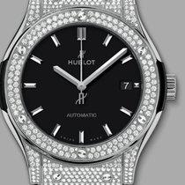 Hublot PAVIO TITANIUM DIAMONDS CLASSIC 511NX1171LR1704