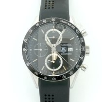 TAG Heuer Mens Tag Heuer Carrera Automatic Chronograph Steel...