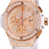 Hublot Big Bang 41 mm Rose Gold Diamond Dial 341.PE.9010.RW.1704
