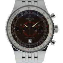 Breitling Montbrillant Legende Chronogrpah Stainless Steel...
