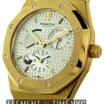 Audemars Piguet Royal Oak Dual Time Power Reserve 18k Yellow Gold