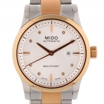 Mido Multifort Lady Stahl Roségold PVD Automatik Stahlband 31mm