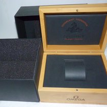 Omega AUTHENTIC GOOD PLANET OCEAN WOODEN WATCH BOX / HOLDER