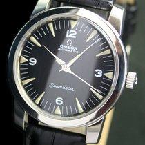 Omega Seamaster Half Rotor Automatic Steel Mens Watch