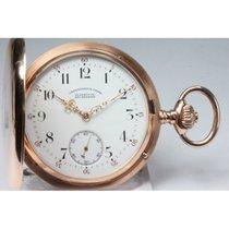 Glashütte Original Uhrenfabrik Union Gold-Savonette-Taschenuhr