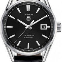 TAG Heuer Carrera Calibre 5 Automatik 39mm  WAR211A.FC6180