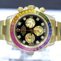 롤렉스 (Rolex) Cosmograph Daytona Diamonds Sapphires Rainbow -...