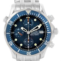 Omega Seamaster Bond Chronograph Blue Dial Mens Watch 2599.80.00