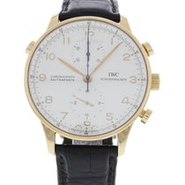 IWC Portuguese 18K Rose Gold Split Second Chronograph 371204