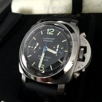 Panerai Luminor 1950 Flyback Regatta Steel 44 mm (Full Set)