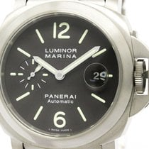 パネライ (Panerai) Polished  Luminor Marina Titanium Automatic...