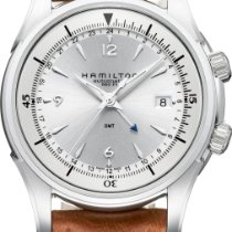 Hamilton Jazzmaster GMT H32625555 Herren Automatikuhr 2. Zeitzone