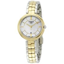 Tissot Flamingo Mop Dial Two Tone Stainless Steel Ladies Watch...