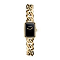 Chanel Première Womens Yellow Gold and Diamond Quartz Watch H3258