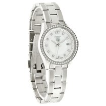 TAG Heuer Carrera Diamond Ladies Swiss Quartz Watch WV1413.BA0793