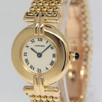 Cartier Colisee 18k Yellow Gold 25mm Ladies Quartz Watch 1980