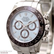 Rolex Daytona Cosmograph Ref-116506 950 Platinum Box Papers...