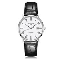 Longines Elegant Automatic Stainless Steel Mens Watch L49104112