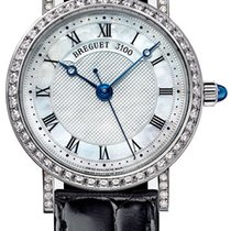 Breguet Classique 18K White Gold & Diamonds Ladies Watch