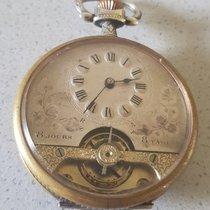 Hebdomas 30. Systeme Hebdomas - 8 days Jugendstil pocket watch...