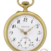 Orion Mans Pocket Watch Bern 1910 so called Schuetzenuhr # 212