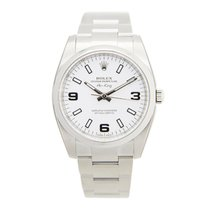 Rolex Oyster Perpetual 114200 White 369 Silver