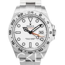 ロレックス (Rolex) Explorer II White/Steel Ø42 mm - 216570