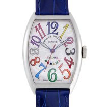 Franck Muller Color Dreams Womens Stainless Steel Quartz Watch...