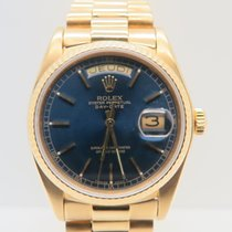Rolex Day Date 18k Yellow Gold Rolex Service 2011 (Complete Set)