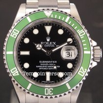 Rolex Submariner date classic green bezel N.O.S. Full set