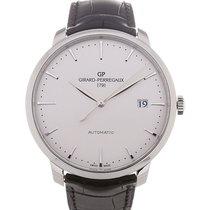 Girard Perregaux 1966 44 Date Silver Dial