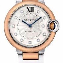 Cartier W3BB0007 Ballon Belu de Cartier in Steel and Rose Gold...