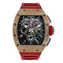 Richard Mille Felipe Massa Flyback Chronograph 18K Rose Gold ...