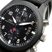 IWC Big Pilot Top Gun Ceramic Iw388001 46 Mm Schaffhausen...