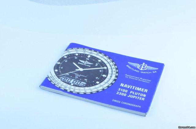 Breitling Navitimer 3100 Manual