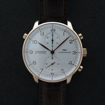IWC Portugaise Rattrapante 3712 pink gold