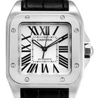 Cartier Santos 100 L Steel Watch W20073X8