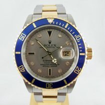 Rolex SUBMARINER ACC.ORO SULTAN DIAL STEEL  AND GOLD FULL SET