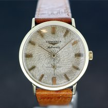 Longines Automatic Gold dial -Gold Filed case Caliber 19 A aus...